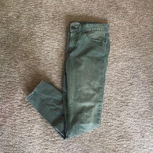 Free People green pants